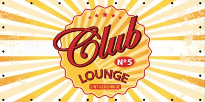 Zomerdoek - Club lounge - met eigen huisnummer