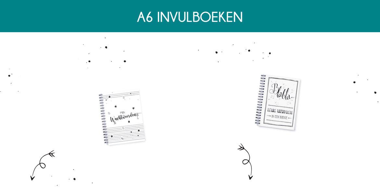 A6-invulboeken