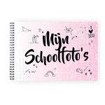 schoolfotoboek roze