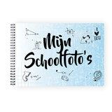 schoolfotoboek blauw