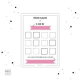beloningskaart roze