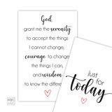 gebed kalmte