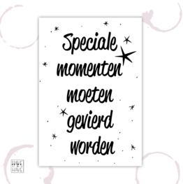 Etiket - Speciale momenten