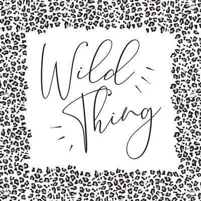 Tuindoek Wild thing 1