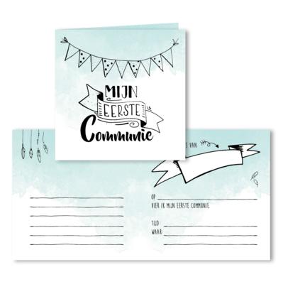 Uitnodiging 'mijn eerste communie'
