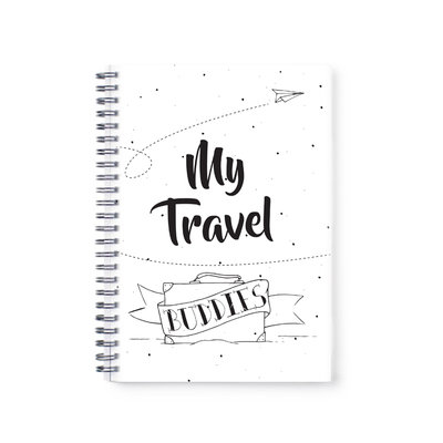 Backpack boek - A5 My travel buddies