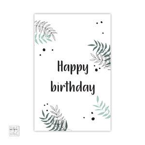 happy birthday botanisch