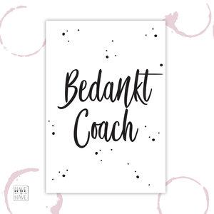 bedankt coach