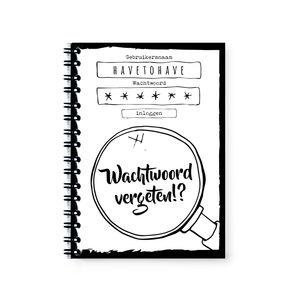 wachtwoordboekje