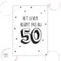 Etiket - 50 jaar