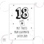 Etiket - 18 jaar